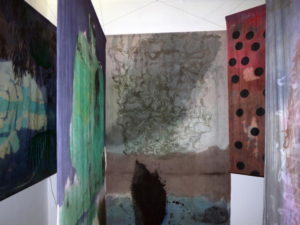 Z výstava Viktorie Valocká: Shnilý mango