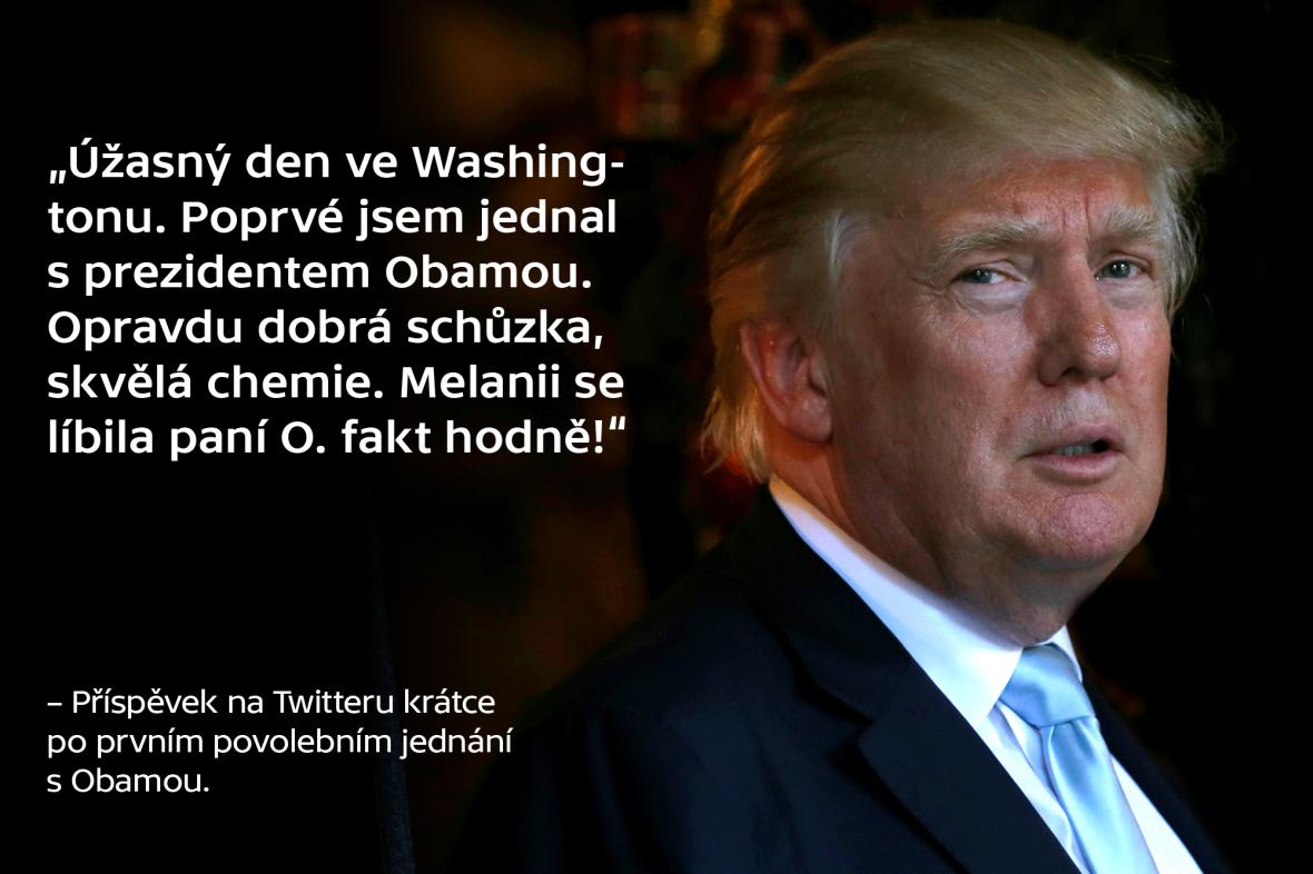 Trump o Obamovi