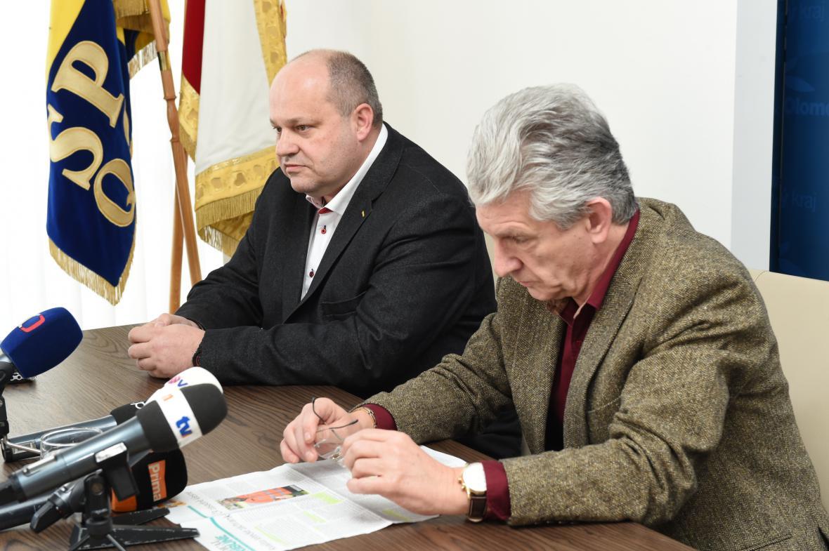 Petr Hubáček (vlevo) a Oto Košta