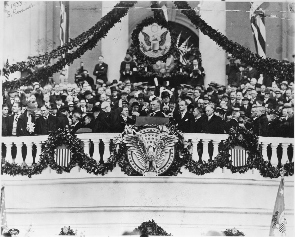 Franklin Delano Roosevelt. Rekordman, který výrazně promluvil do tradic inaugurací