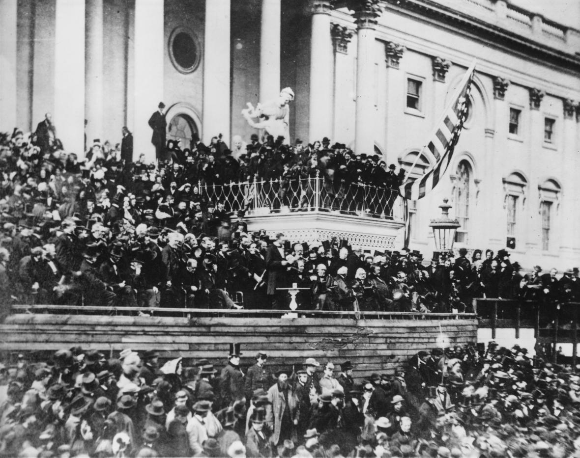 Inaugurace Abrahama Lincolna