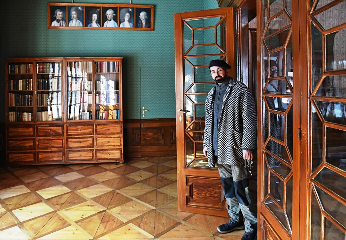 Kastelán zámku Červená Lhota Tomáš Horyna