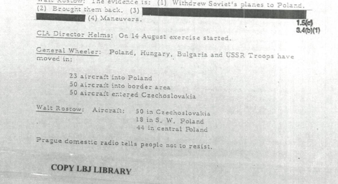 Odtajněné dokumenty CIA