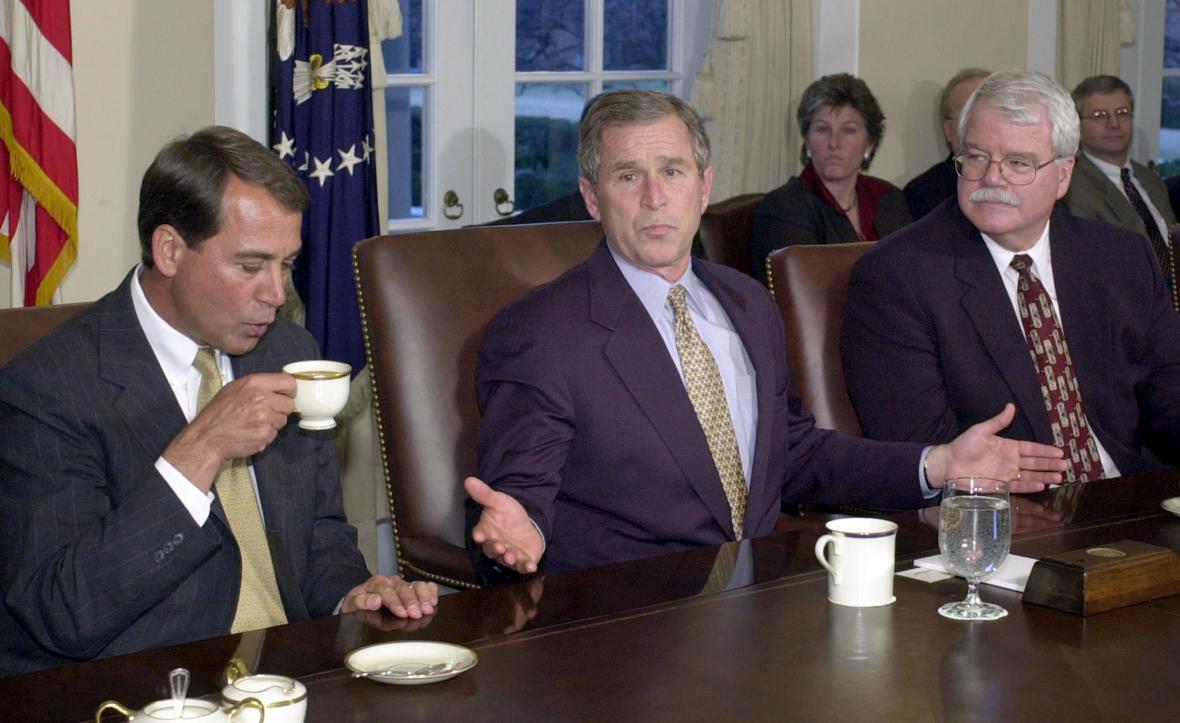 Brífink Bushe k reformě vzdělávání