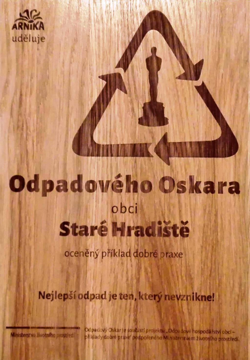 Cena Odpadový Oskar