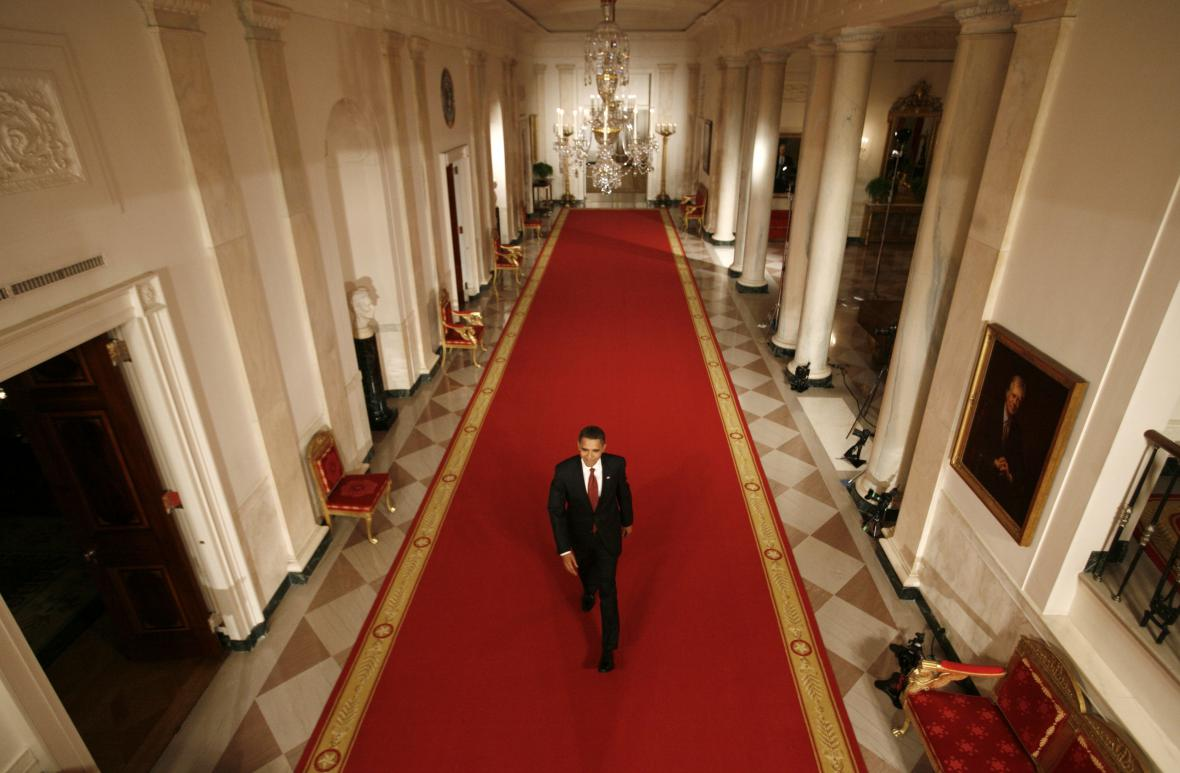 Barack Obama v Bílém domě (2009)