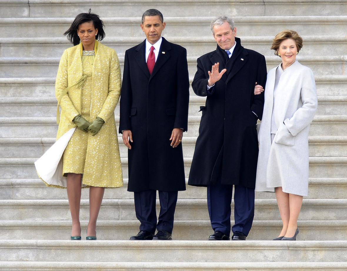 Předávání moci mezi Georgem W. Bushem a Barackem Obamou