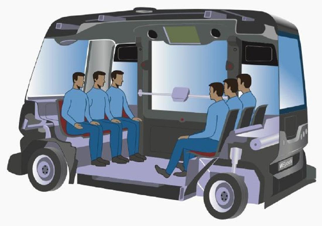 Interiér vozu EZ10