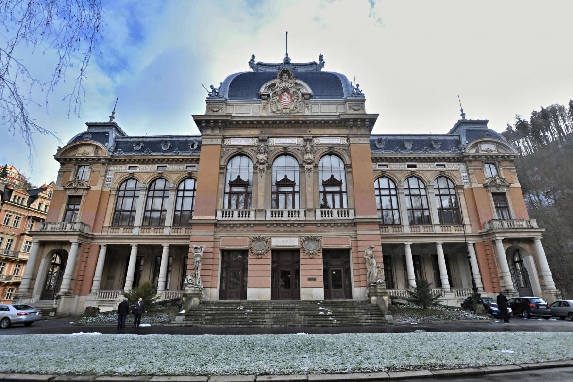 Císařské lázně v Karlových Varech
