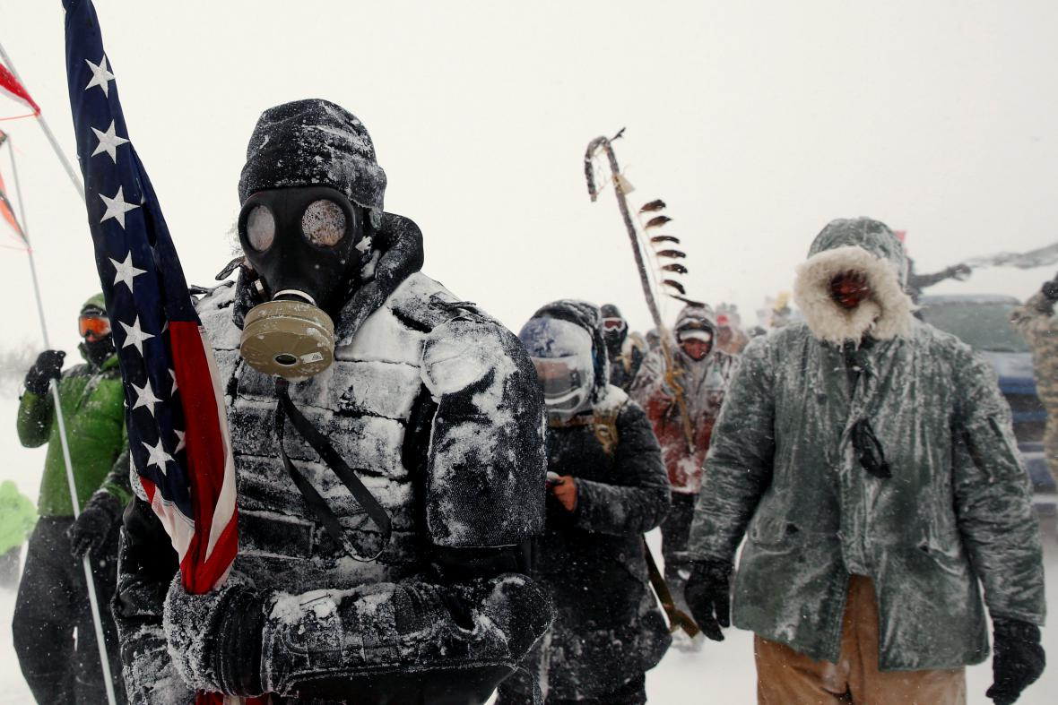 Protesty proti ropovodu Dakota Access (prosinec 2016)