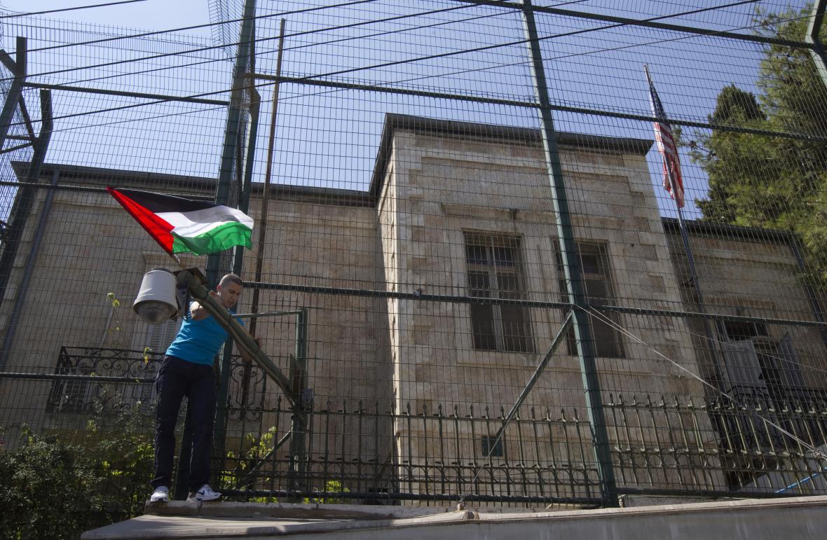 USA dosud provozují v Jeruzalémě konzulát