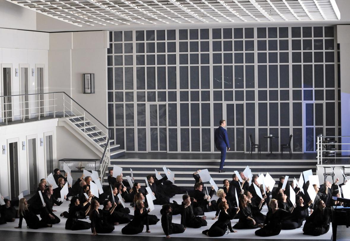 Uvedení oratoria Epos o Gilgamešovi a opery Dido a Aeneas v Národním divadle Brno