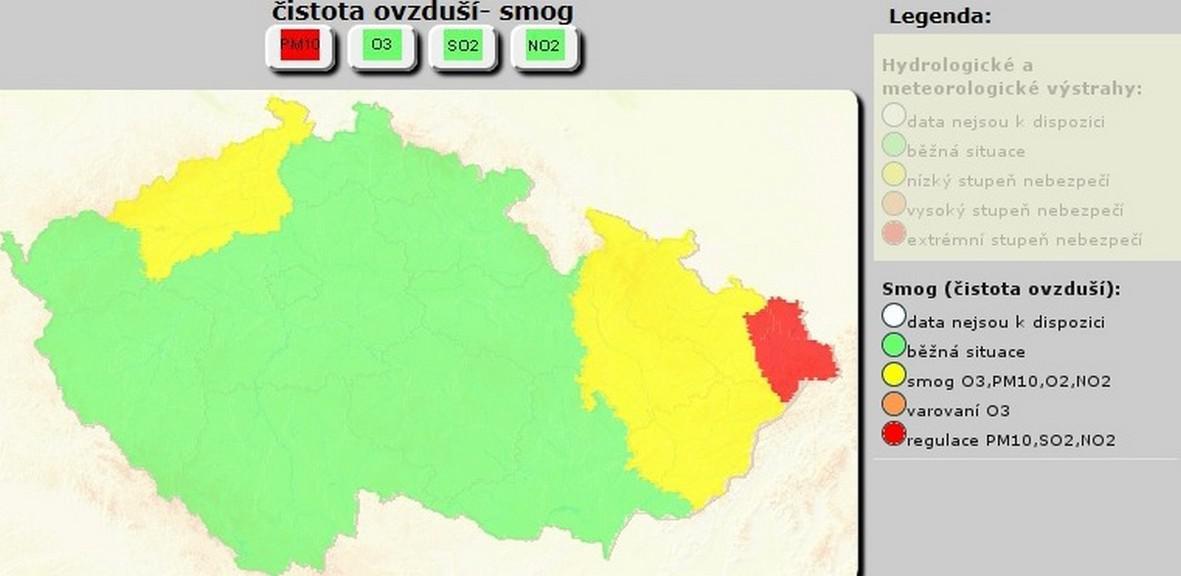 Regulace platí pro Třinecko a Ostravskou aglomeraci