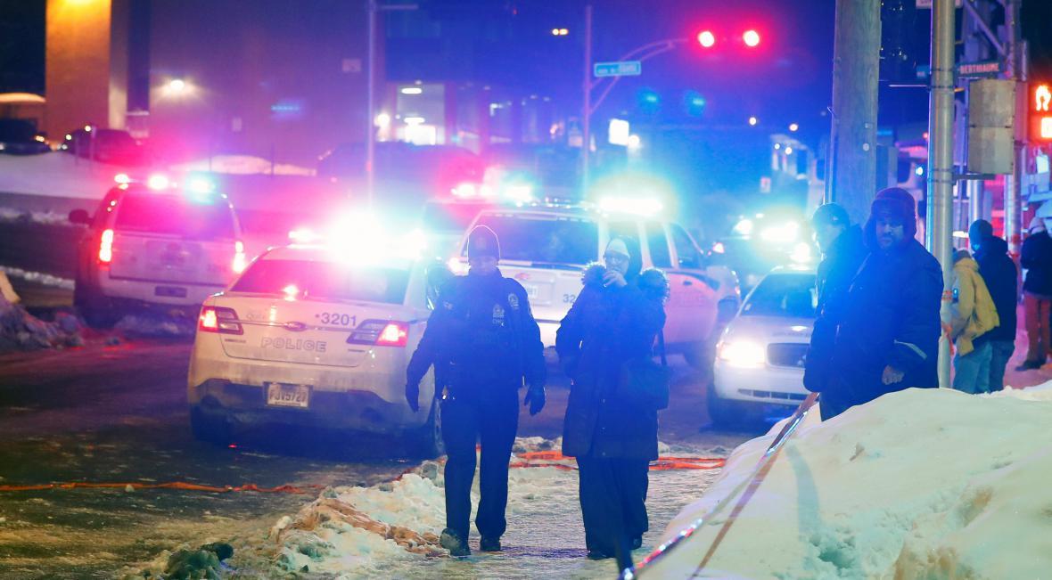 Střelba v kanadské mešitě