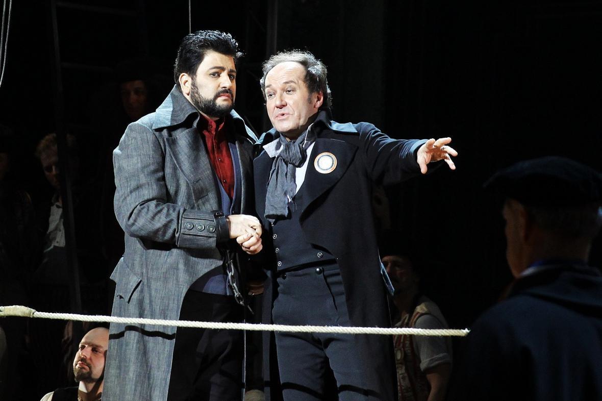 Yusif Eyvazov a Roman Janál