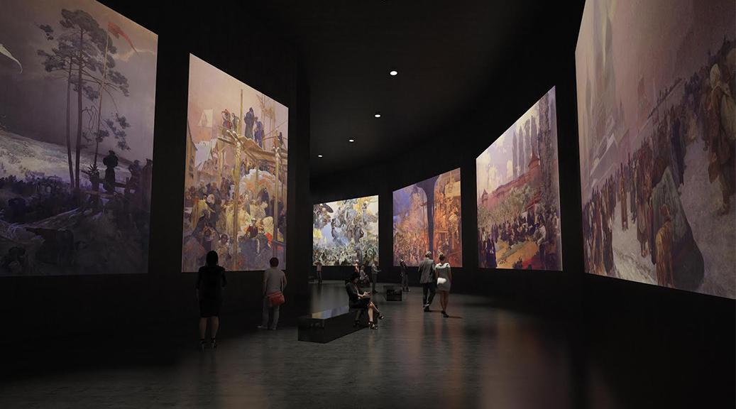 Vizualizace nového pavilónu u Štefánikova mostu
