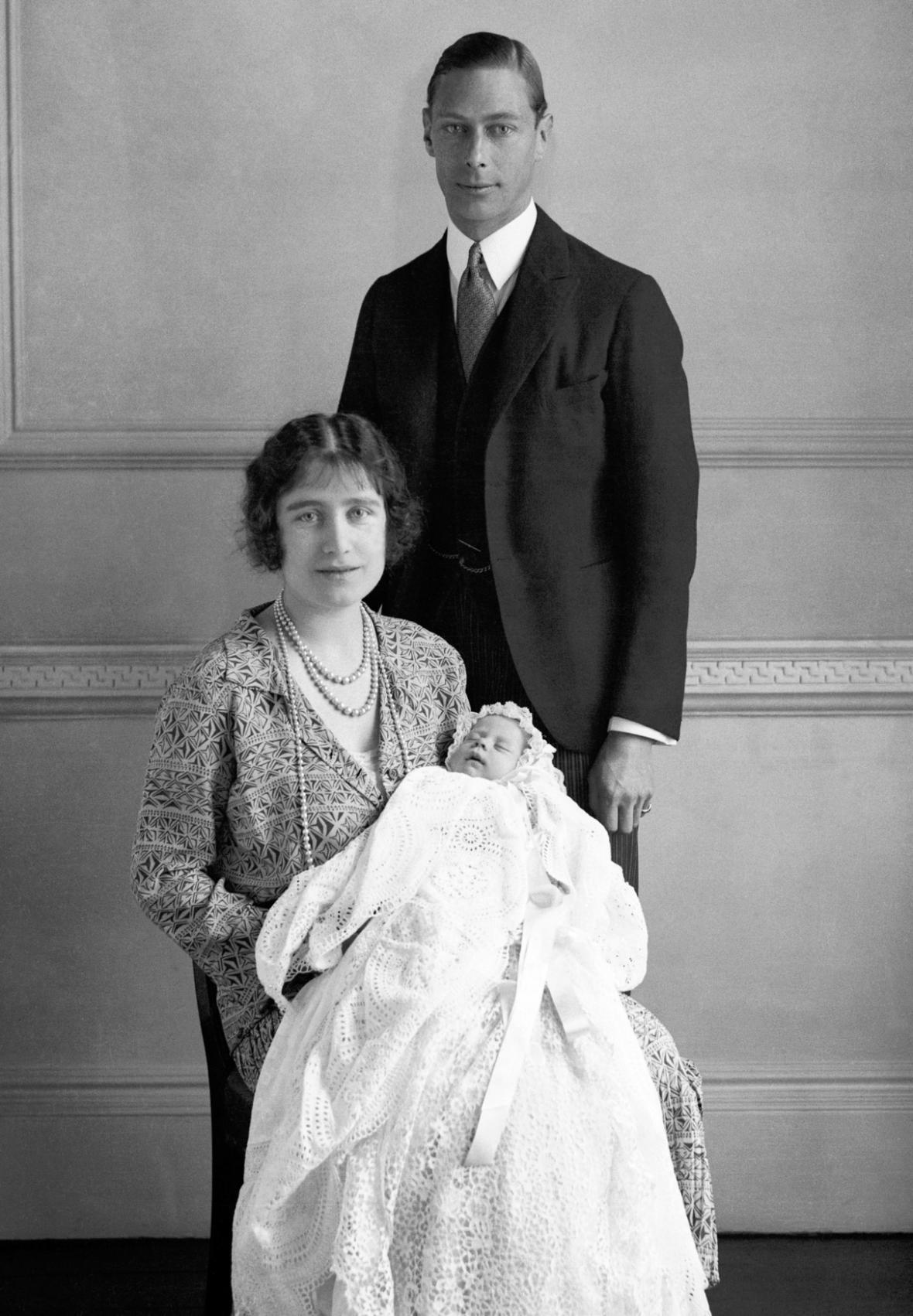 Rodiče s osmidenní Alžbětou