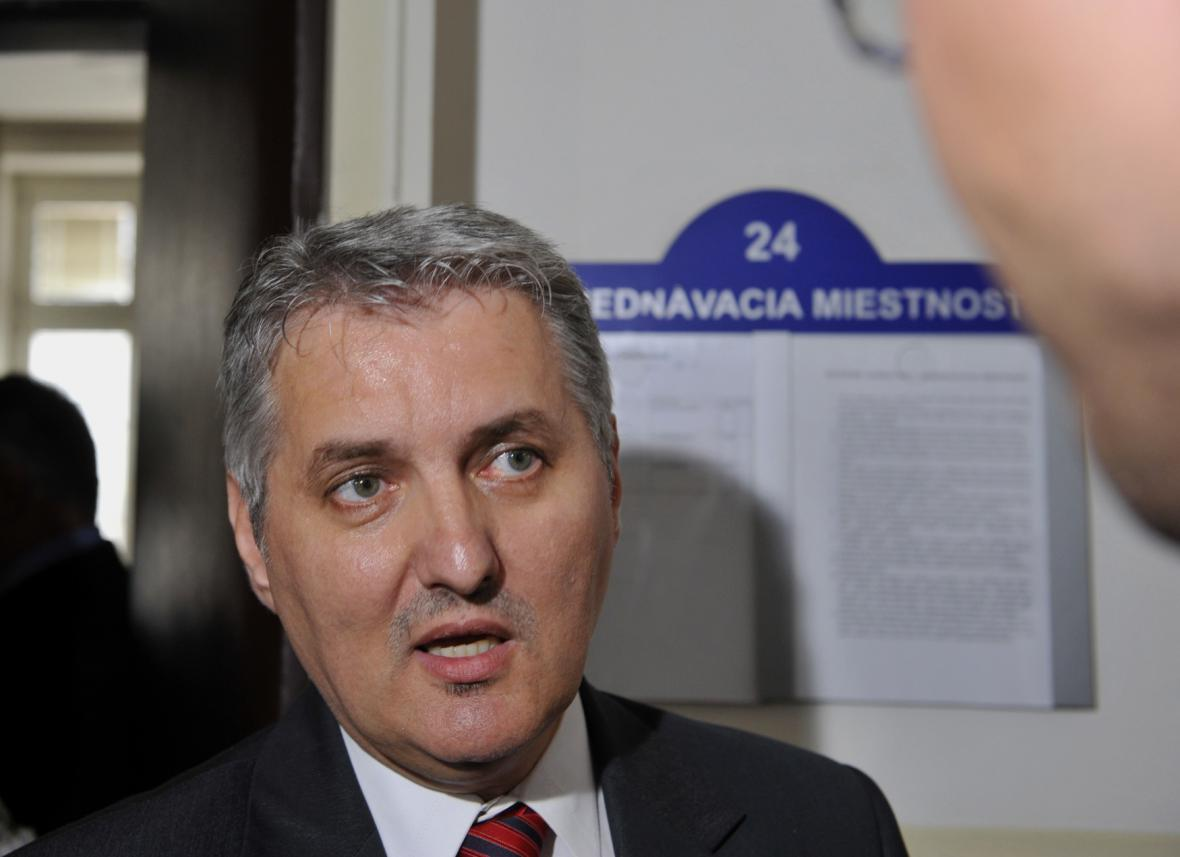 Předseda správní rady ÚPN Ondrej Krajňák