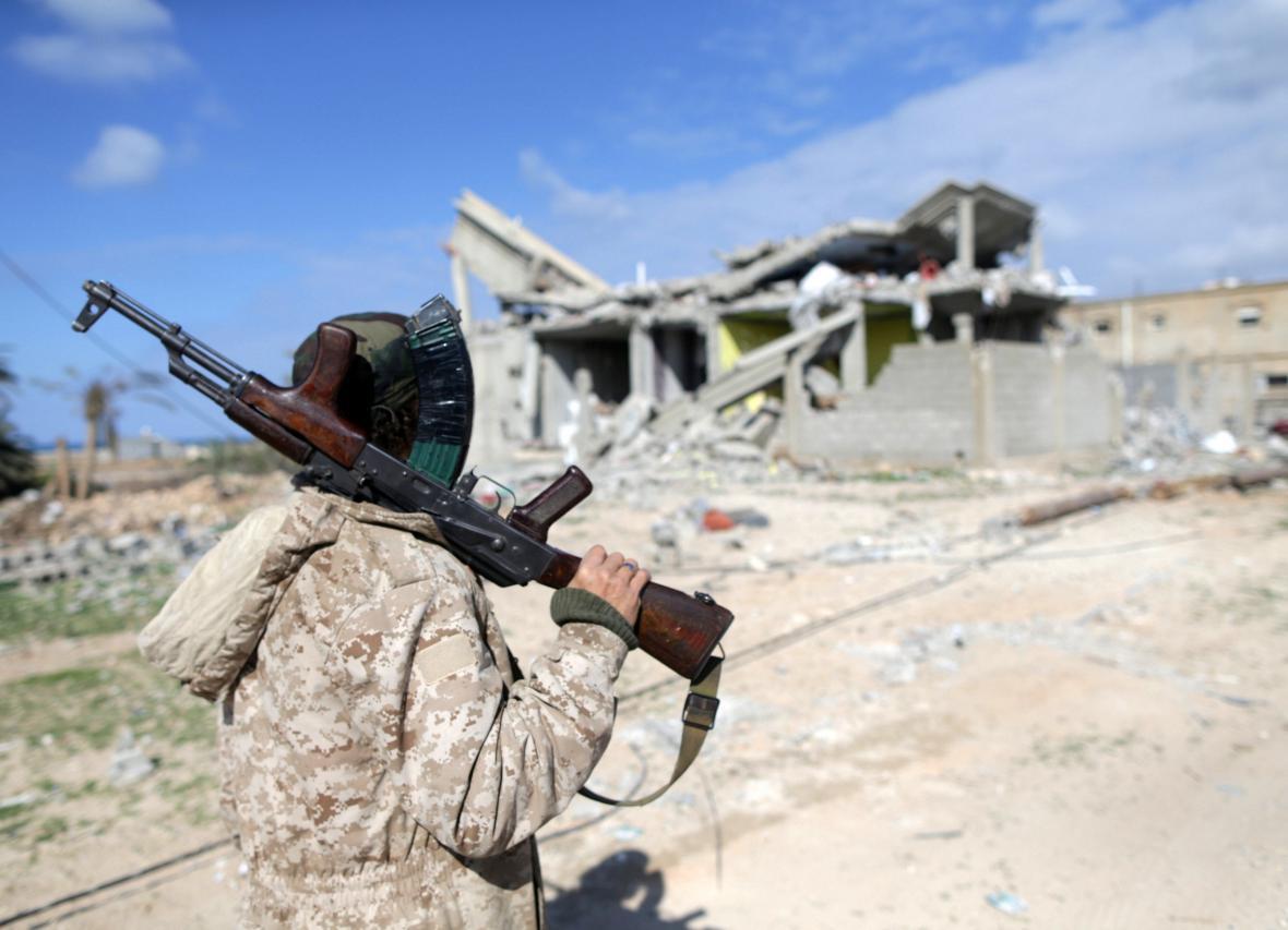 Ozbrojenec v Benghází