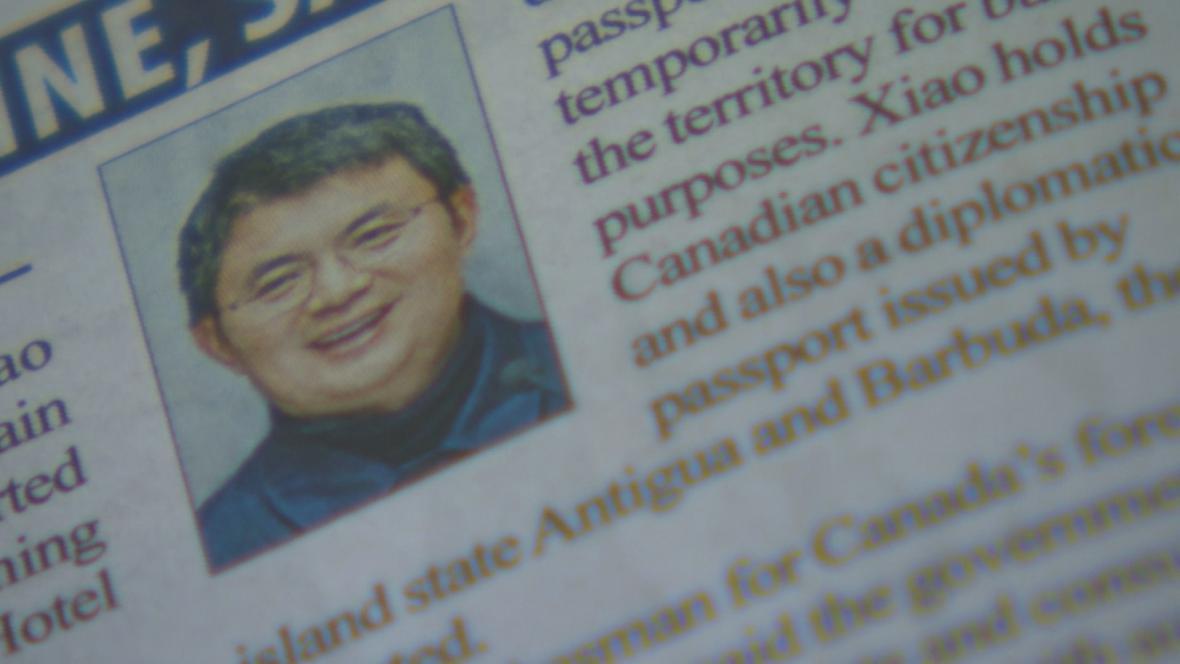 V tisku se objevila zpráva o léčení Ťien-chua v Číně