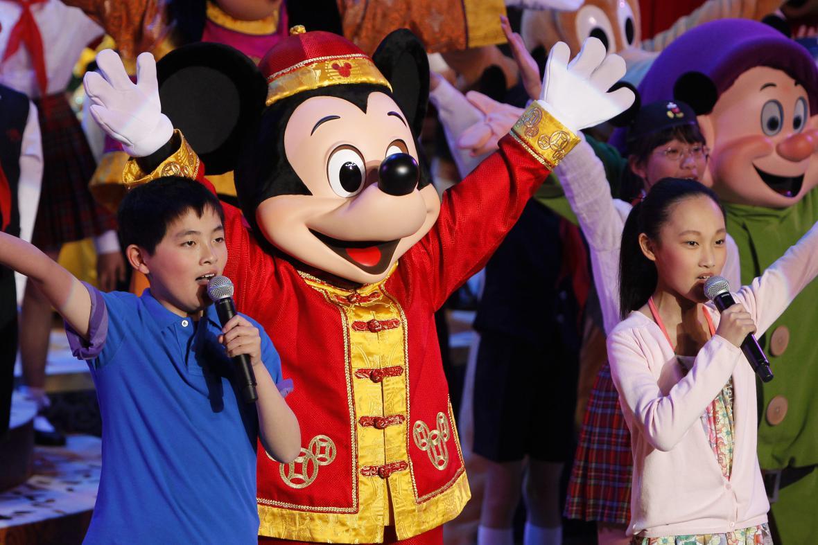 Šanghajský Disneyland