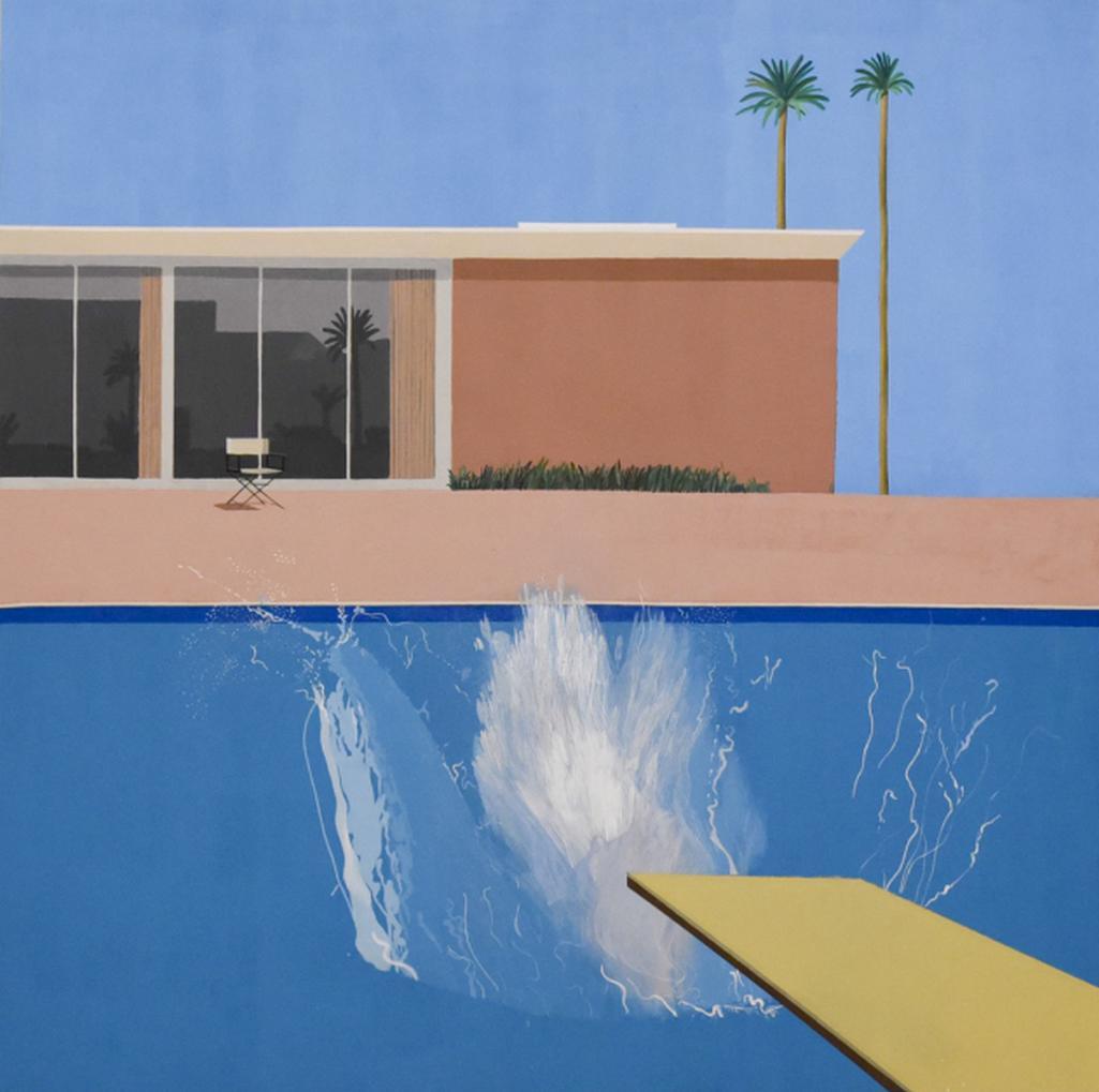 David Hockney / A Bigger Splash, 1967