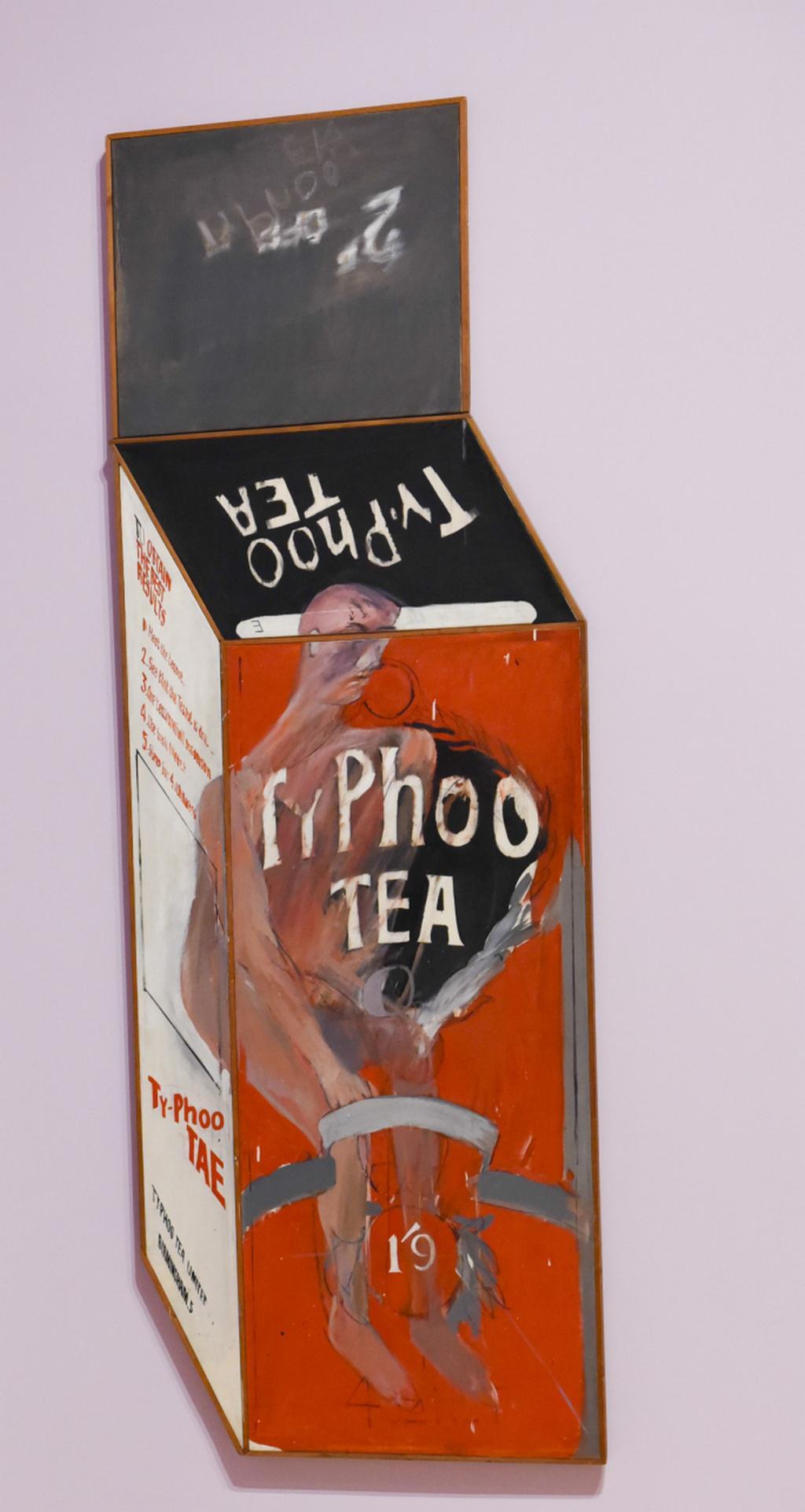David Hockney / ''Tea Painting in an Illusionist Style, 1961
