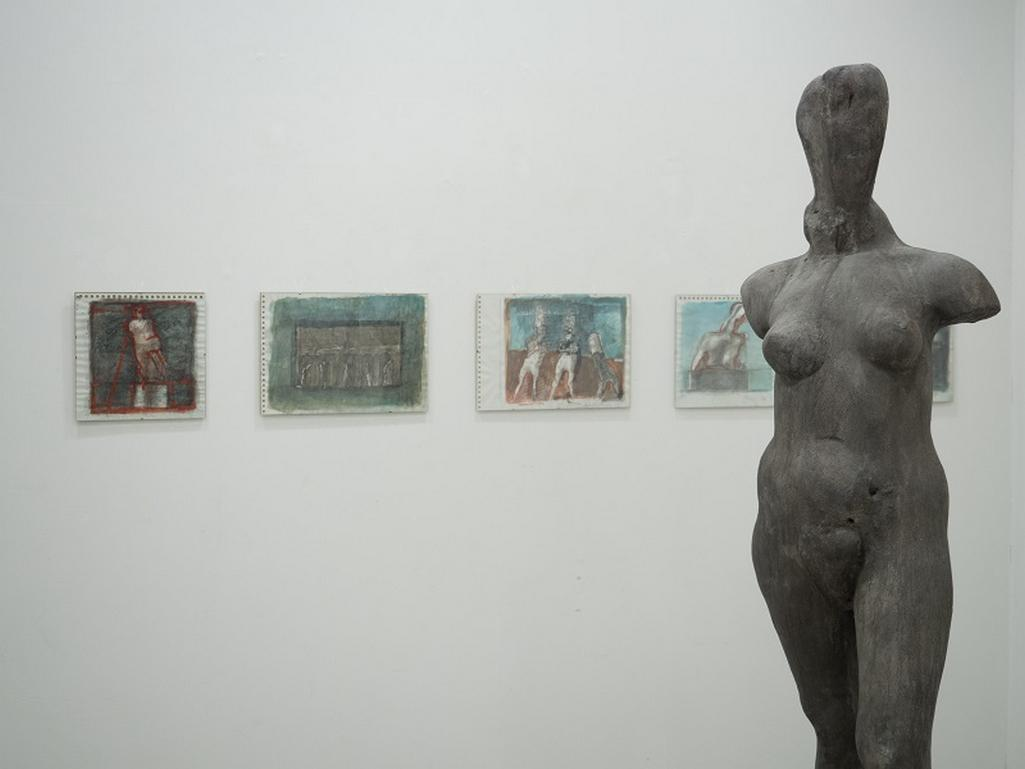 Z výstavy Jana Hendrycha