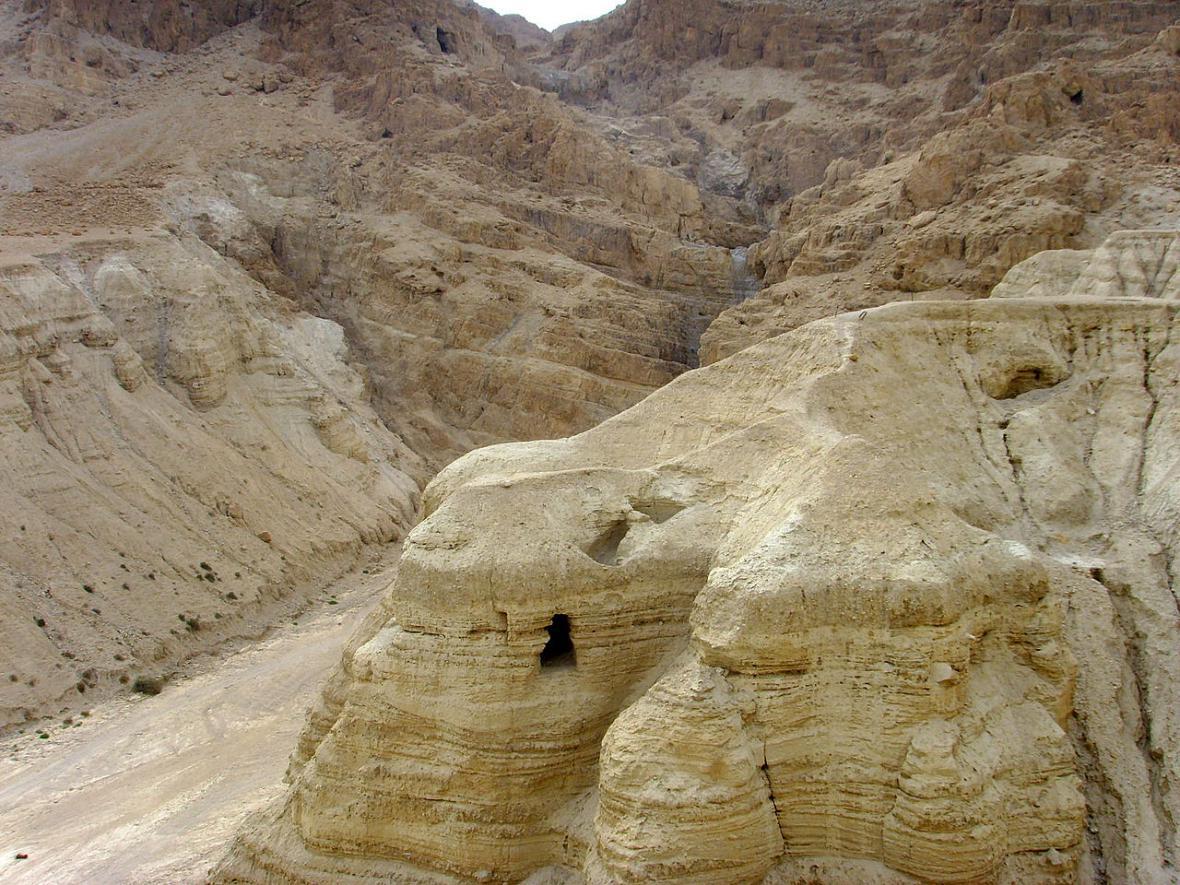 Čtvrtá jeskyně, kde byly nalezeny Kumránské svitky