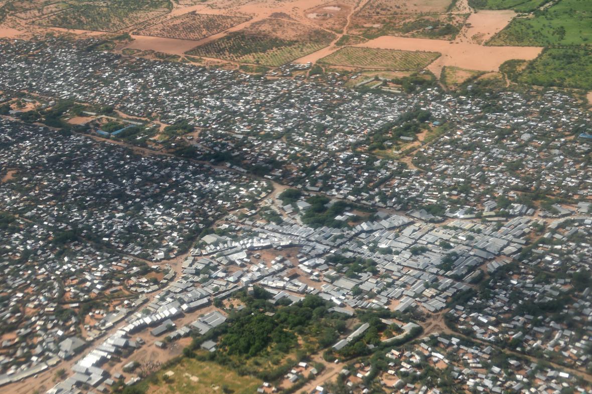 Uprchlický tábor v Keni