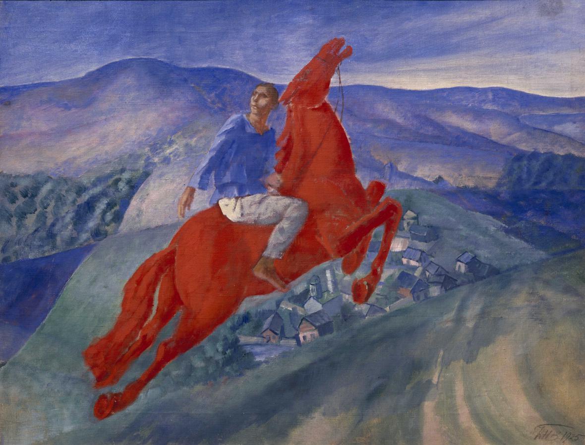 Kuzma Petrov-Vodkin / Fantazie, 1925