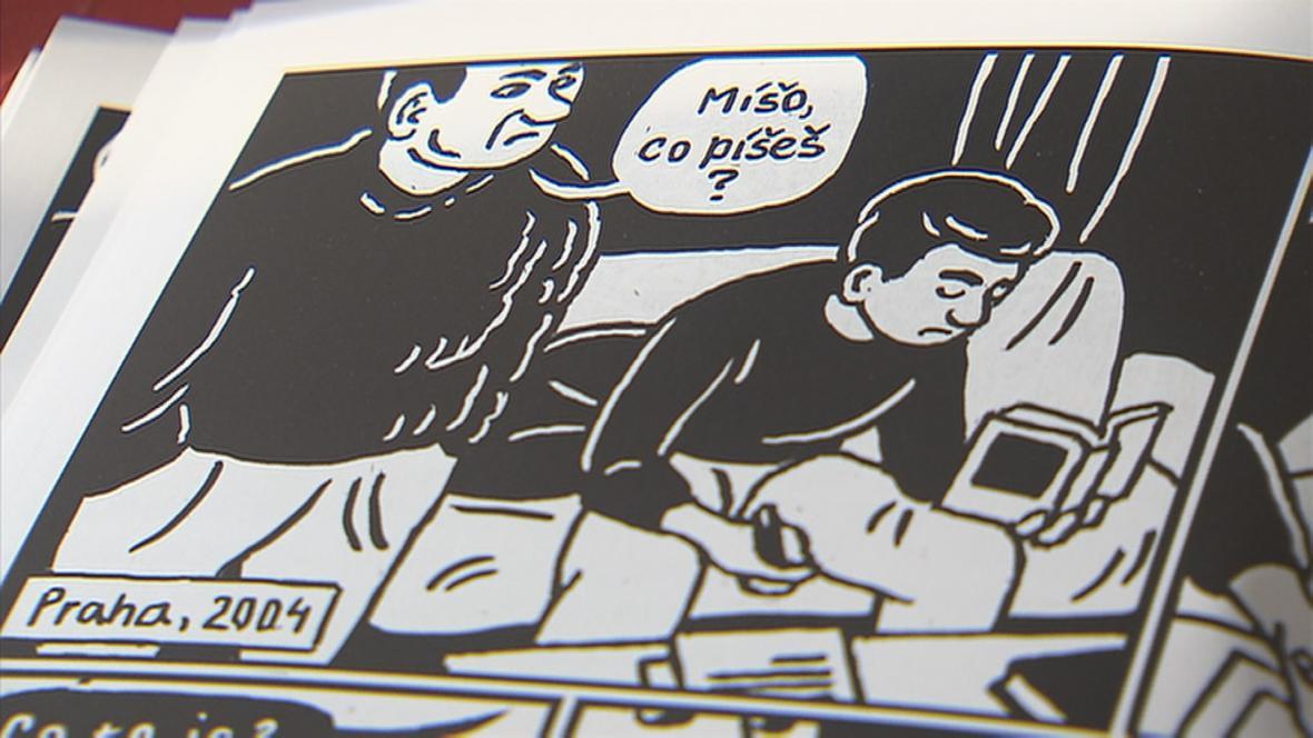 Obrázek z komiksu edice Nejisté domovy