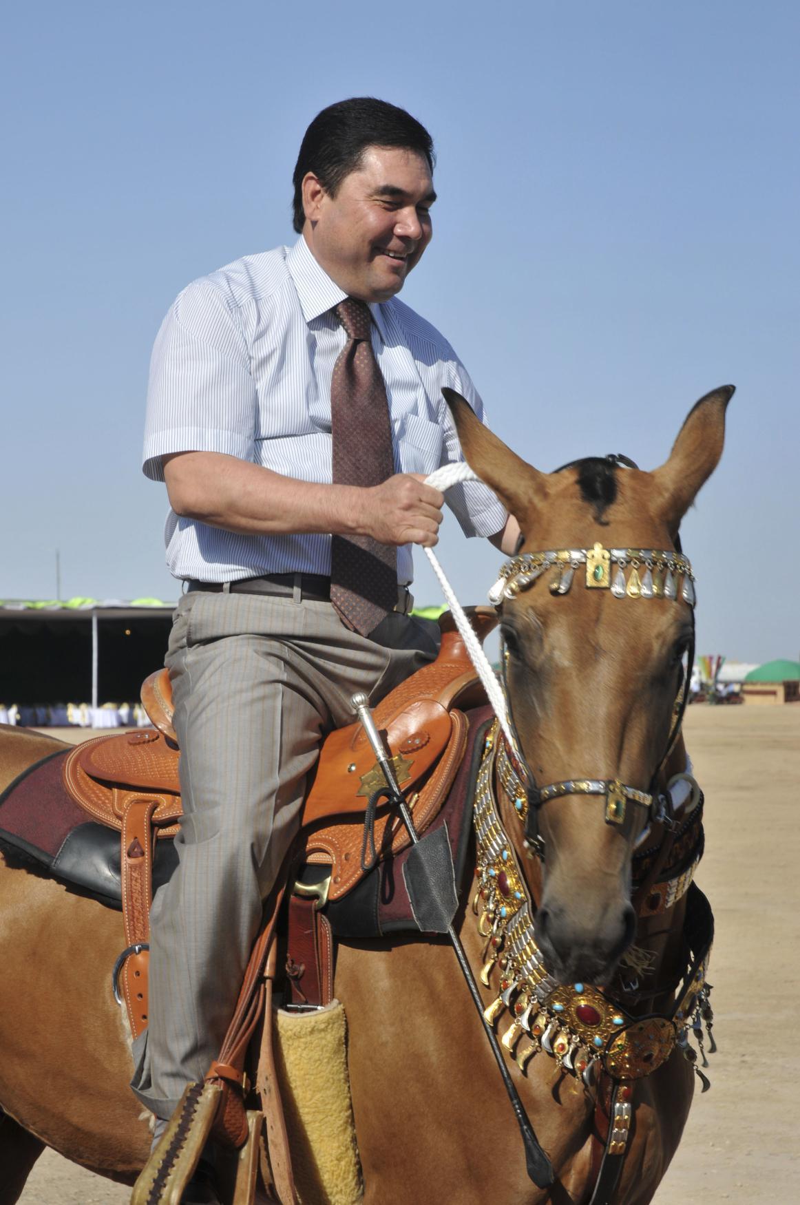 Turkmenský prezident