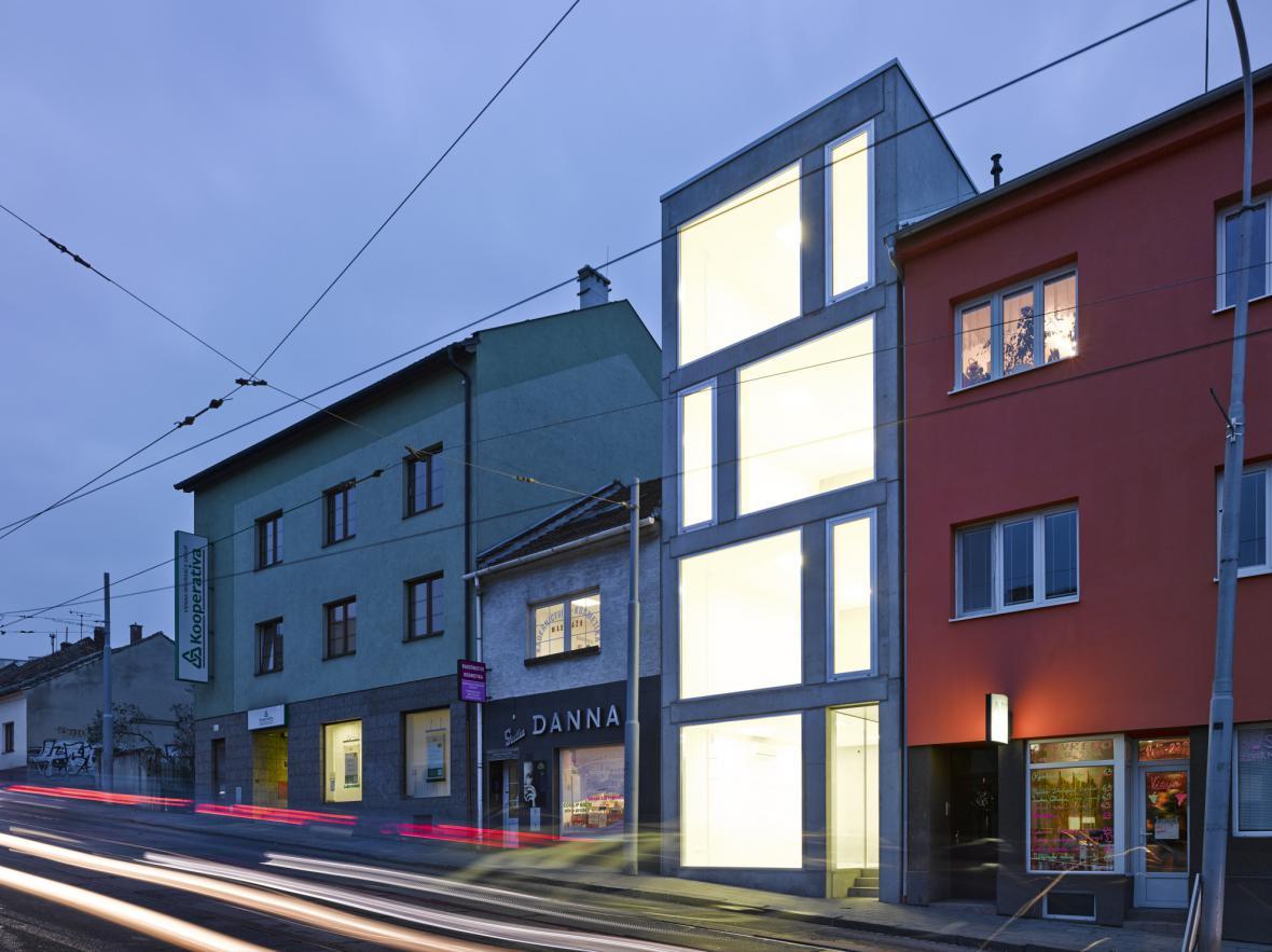 Polyfunkční dům v Minské ulici v Brně
