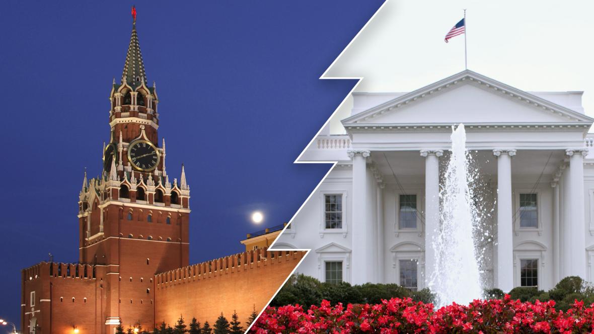Kreml a Bílý dům