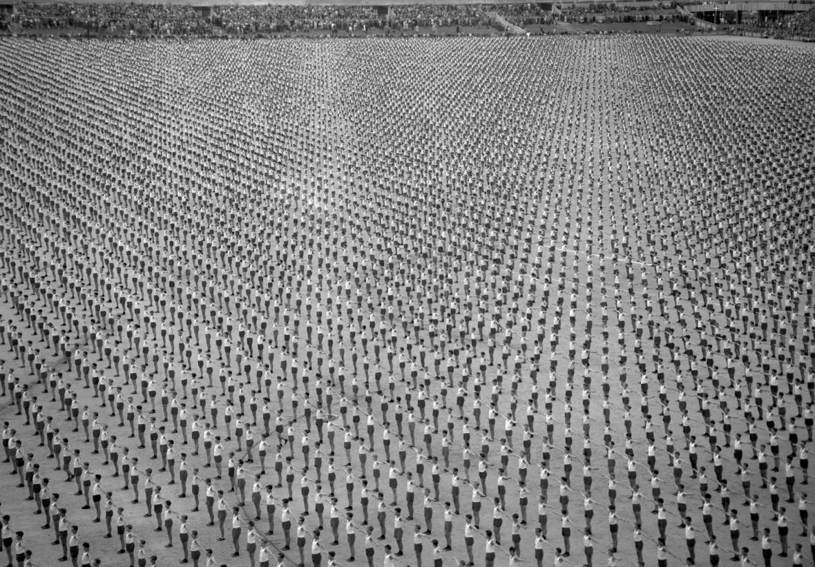 Všesokolský slet v roce 1948