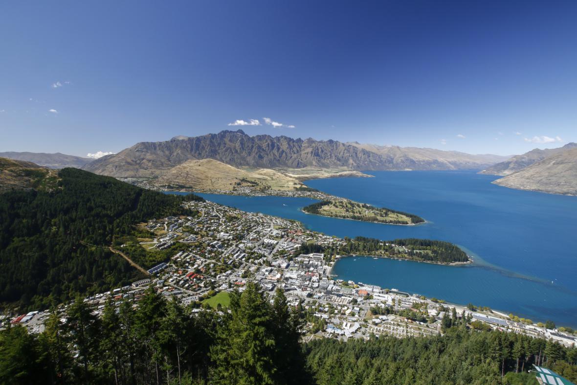 Novozélandský Queenstown
