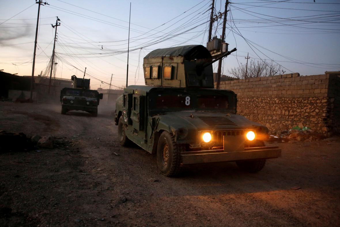 Začalo osvobozování západní části Mosulu.