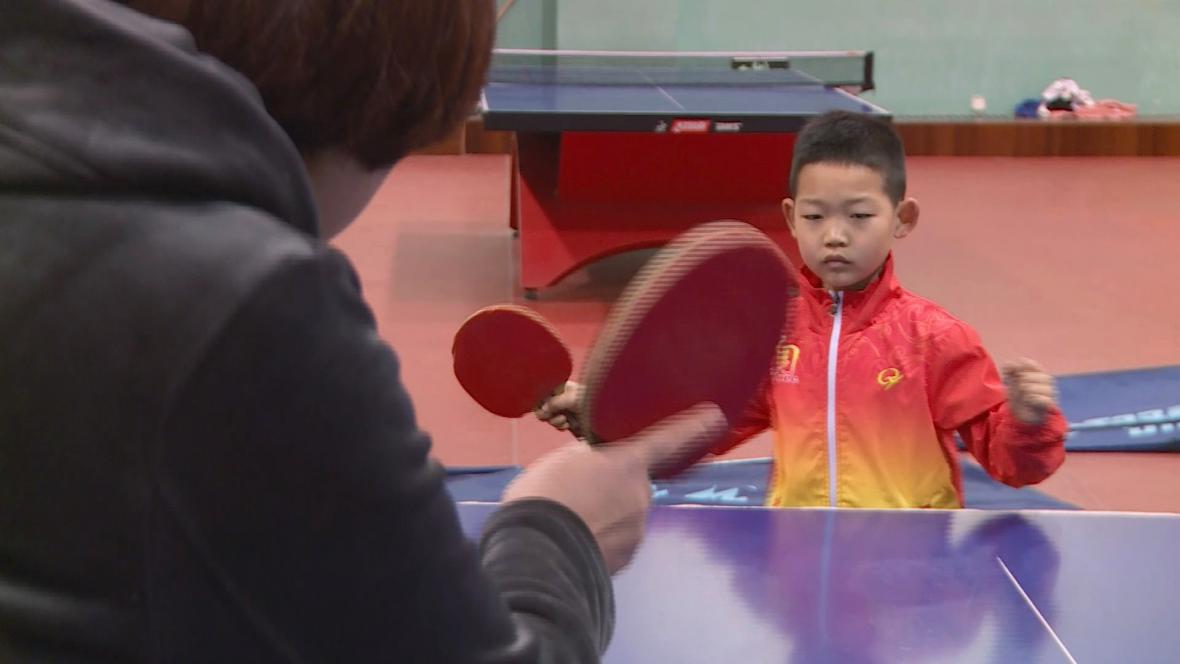 Číňany trénují na olympiádu od dětství