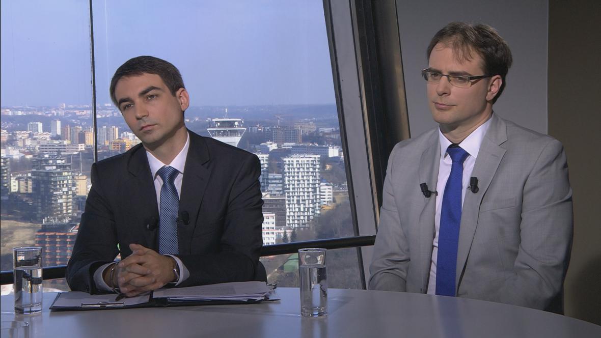 Jakub Seidler (vlevo) a Zdeněk Kudrna