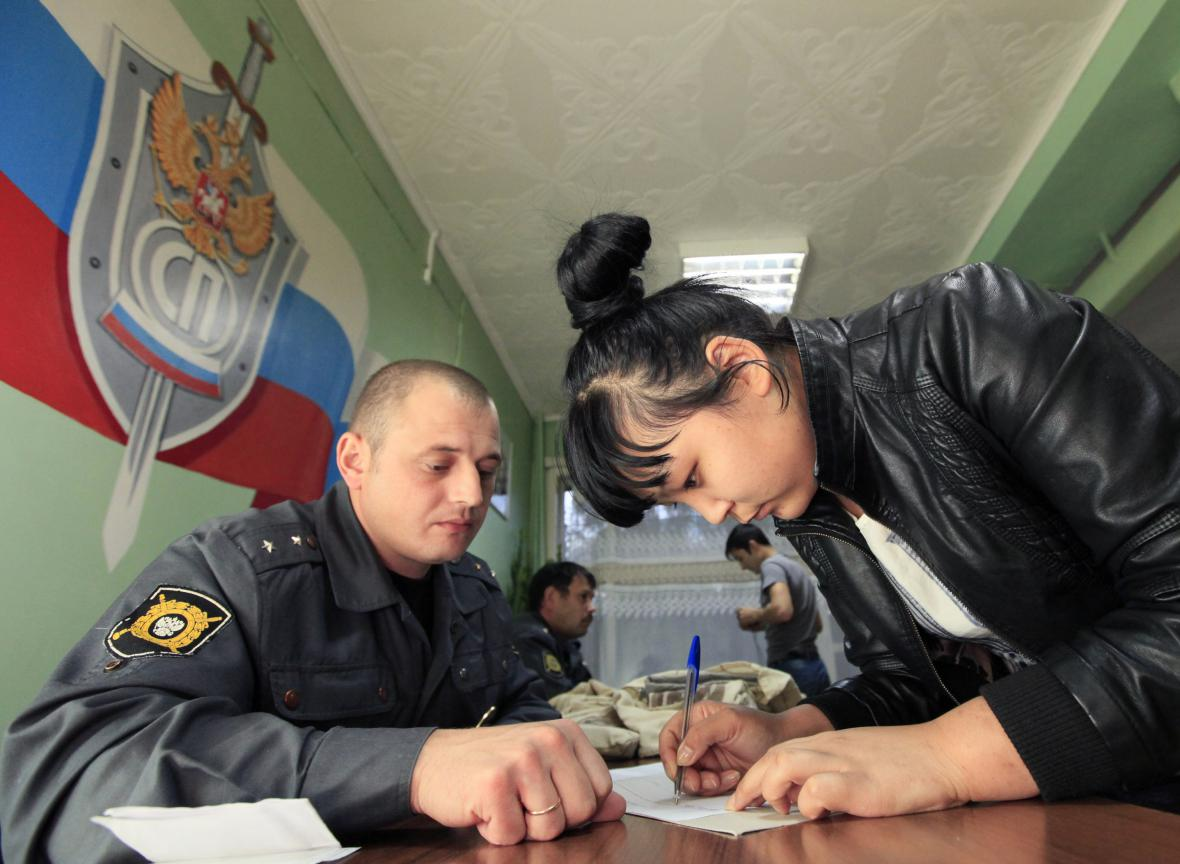 Registrace imigrantů v Rusku