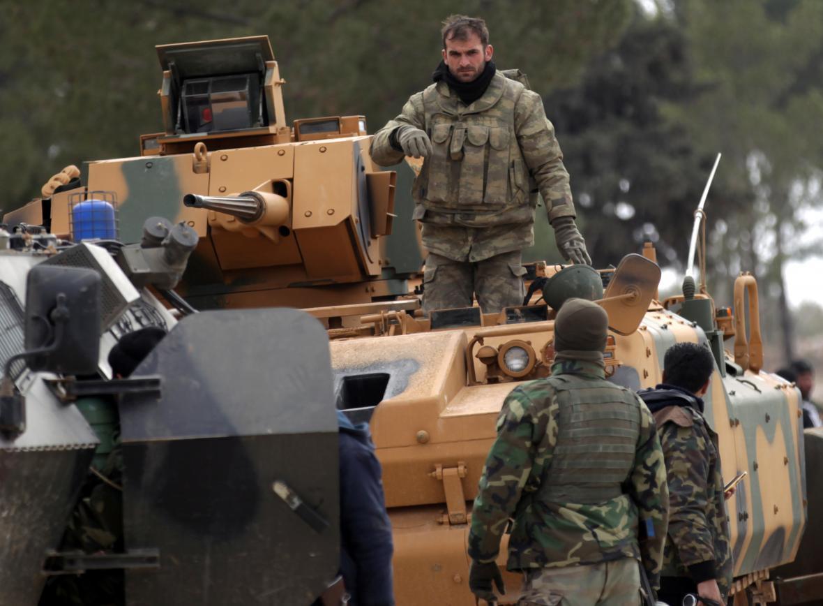 Turci s rebely dobyli Al-Báb