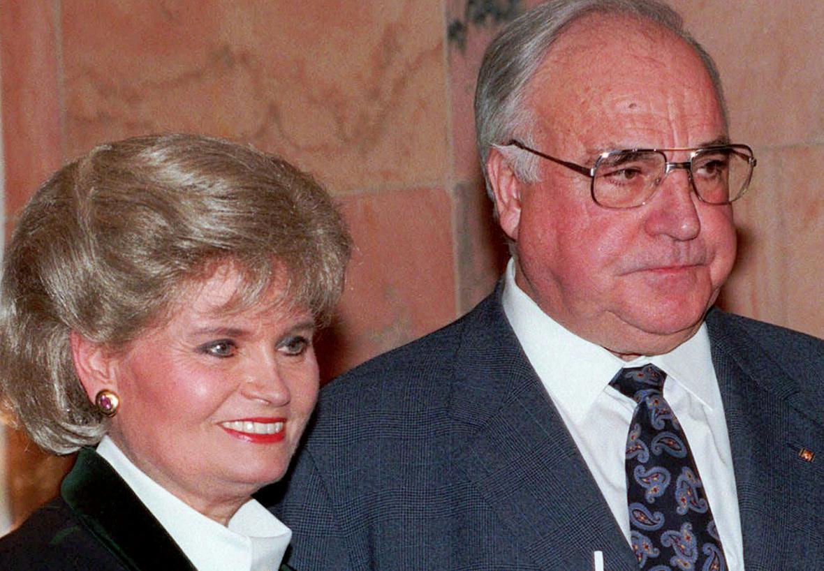 Hennelore a Helmut Kohlovi