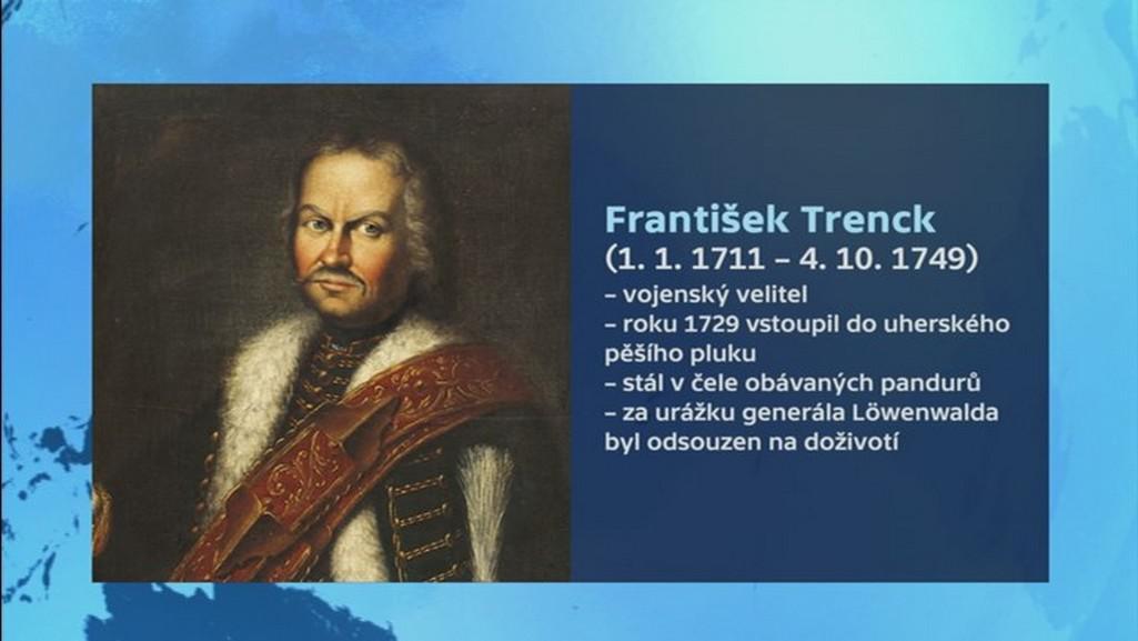 Vizitka barona Trencka