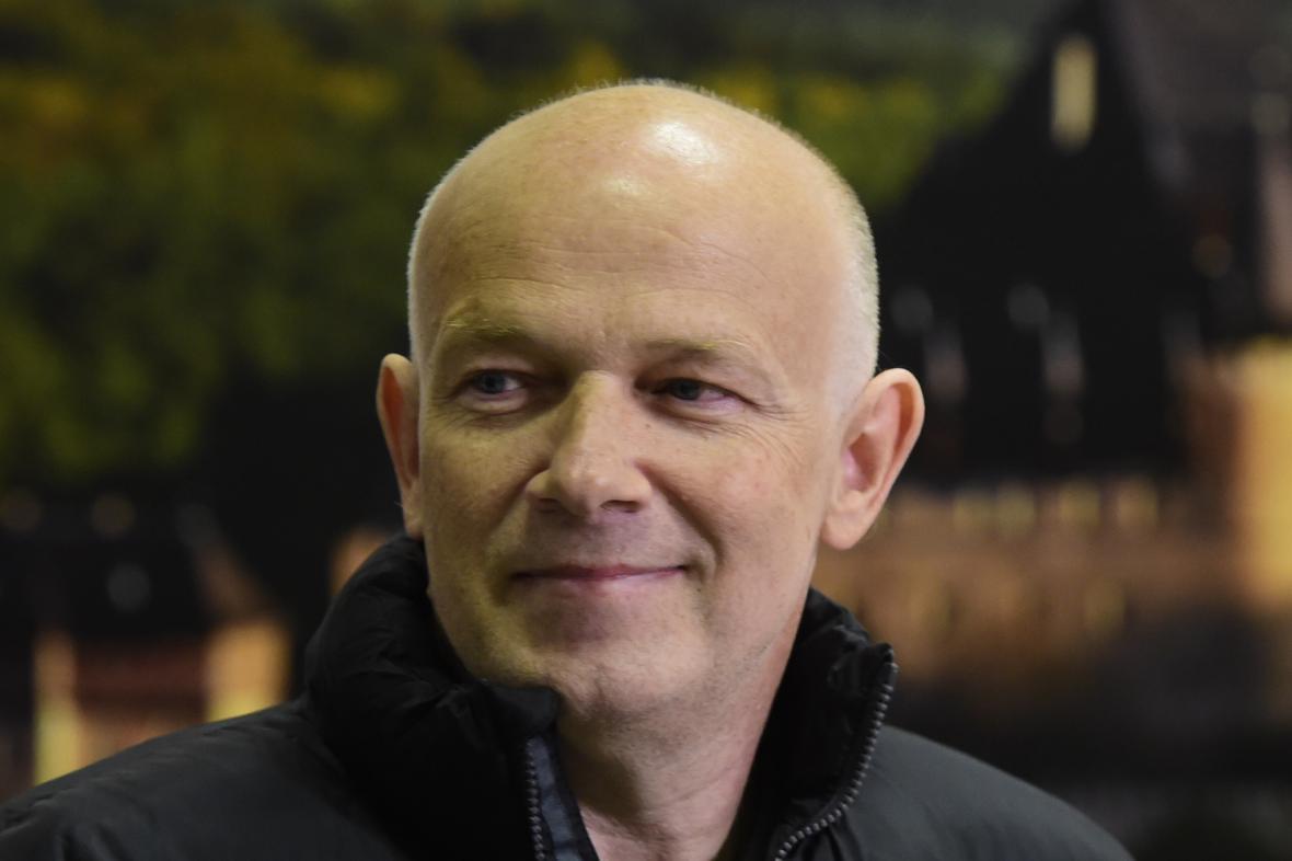 Petr Jašek po příletu do Česka
