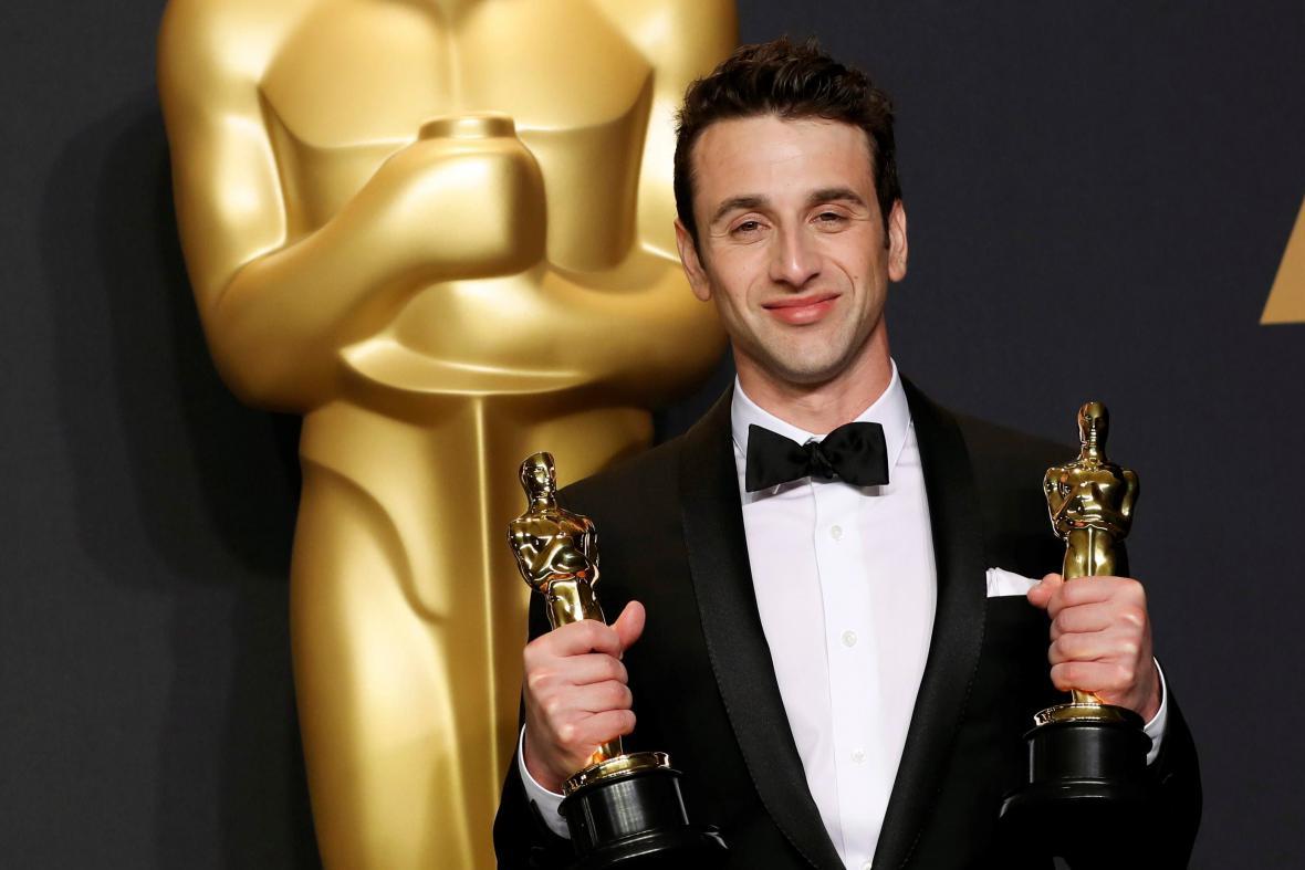 Autor nejlepší hudby a písně Justin Hurwitz (La La Land)