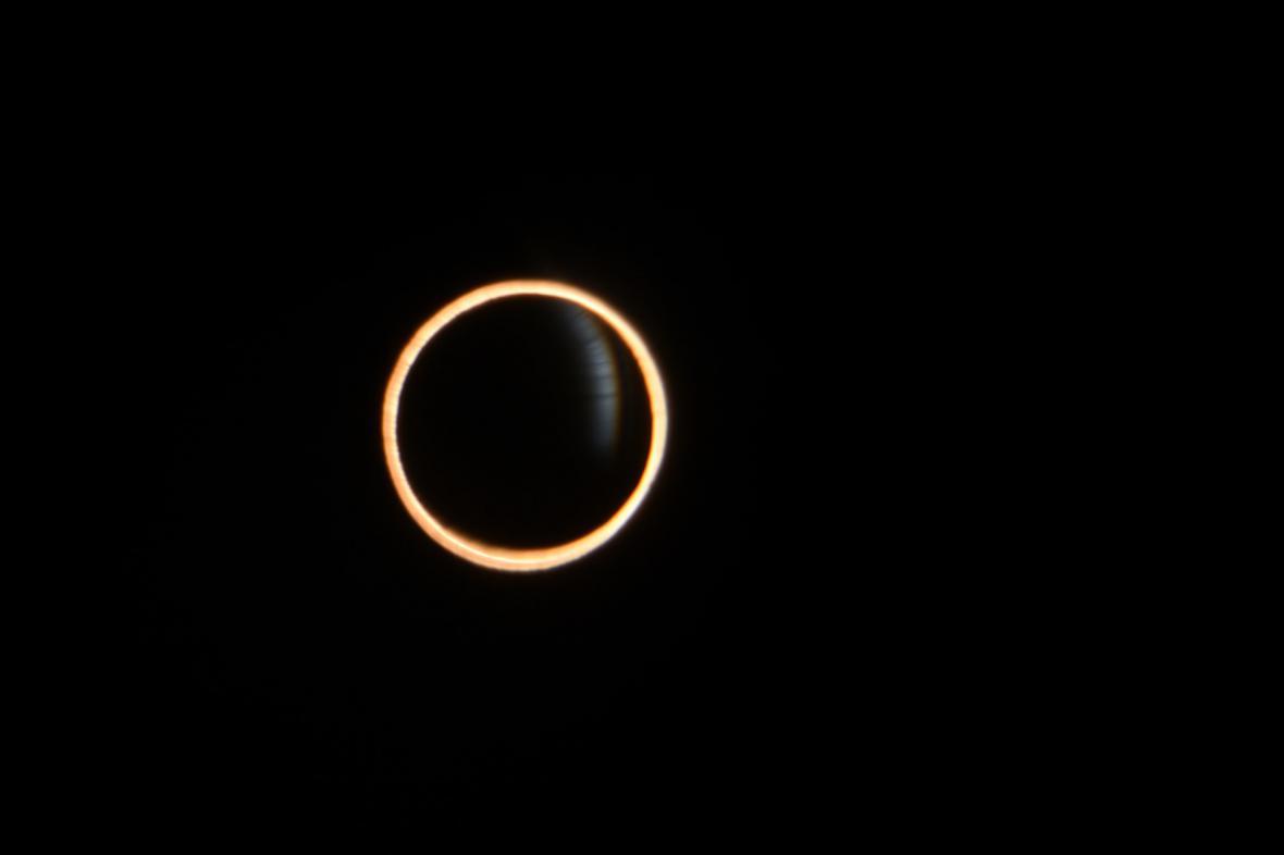 Prstencová zatmění v Chile