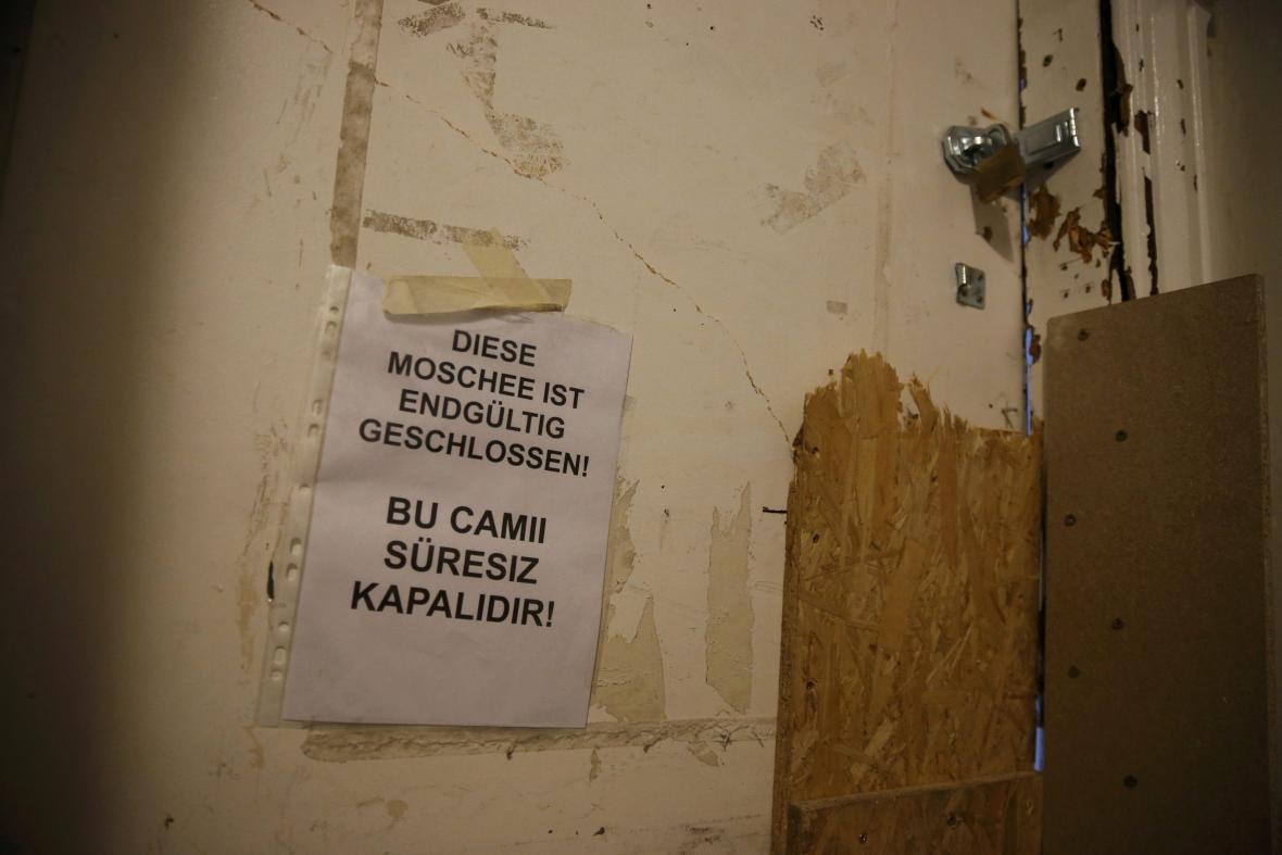 Uzavřená mešita ve čtvrti Moabit