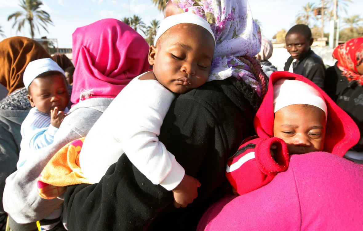 Děti afrických migrantů