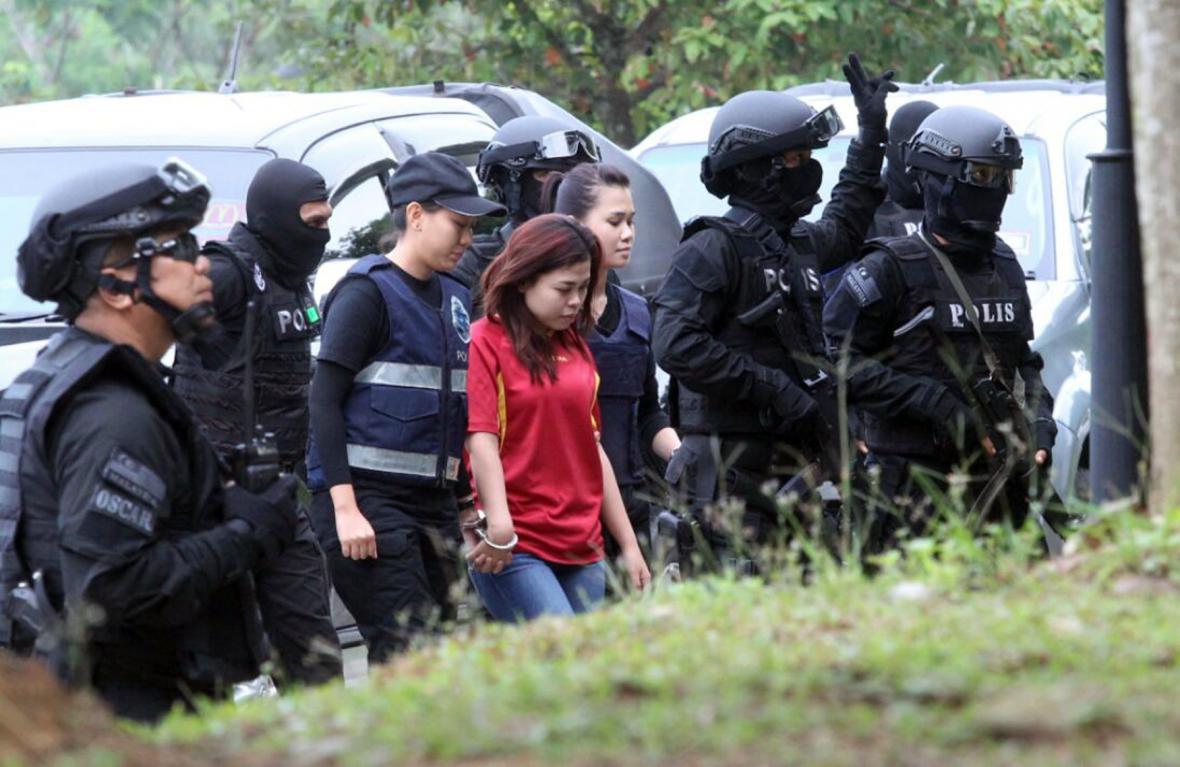Indonésanka Siti Aisyahová
